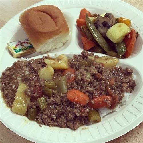 Hawaiian Curry Stew Plate