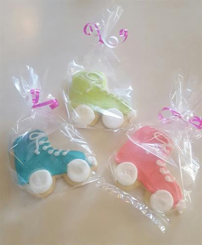 Skate Sugar Cookies