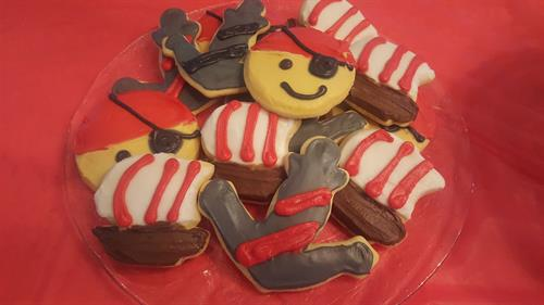 Pirate Sugar Cookies
