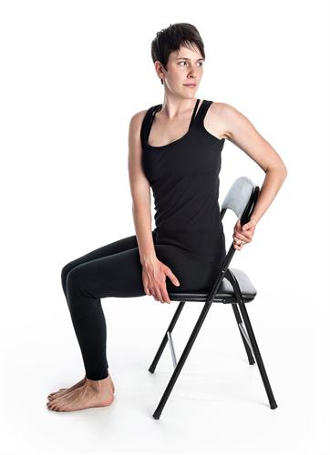 Chair Yoga Twist
