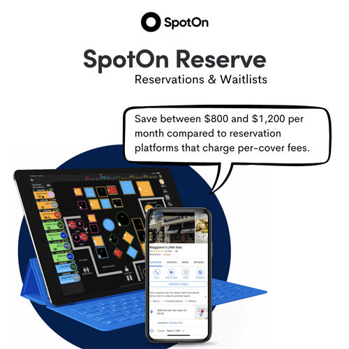 SpotOn Reserve - Reservations & Waitlists