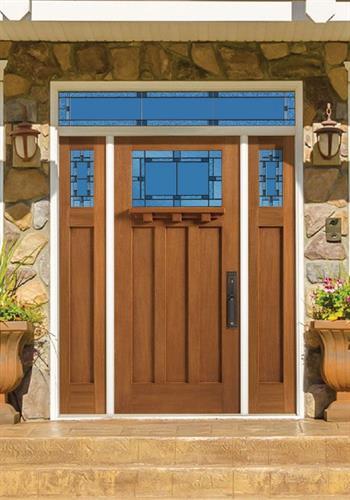 Prairie Style Entry Door