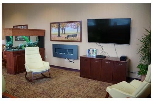 Hospice of Hamilton Inpatient Care Center Family Room