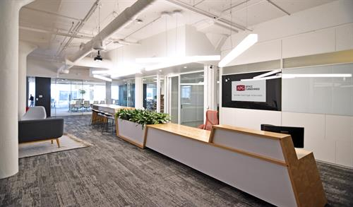 Welcome to the APG Innovation Center at the Edge building!