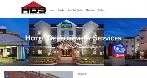 Hotel Builders Website