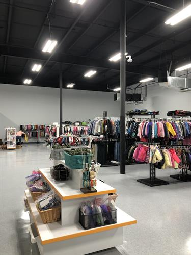 Clothing boutique for foster children