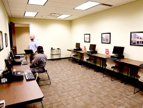 Computer lab for students