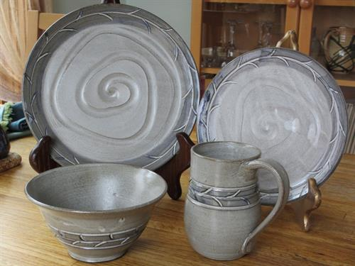 Set of Dishes (commissioned)