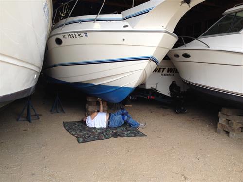 Power boat surveys