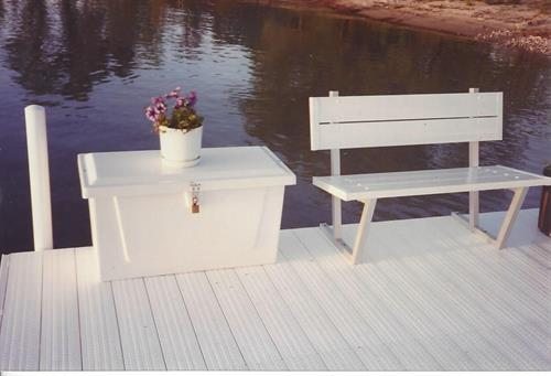 Dock Box & Bench