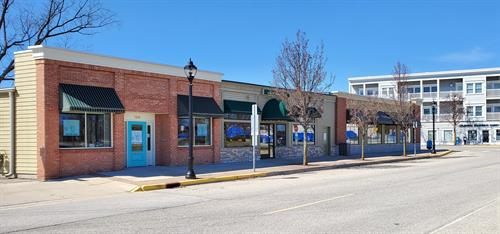 Where you'll find us in downtown Elk Rapids