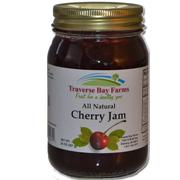 Traverse Bay Farms Michigan Cherry Jam - Made with Michigan-Grown Montmorency Tart Cherries