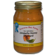 Traverse Bay Farms Jalapeno Honey Mustard - Voted #3 in America at the Scovie Awards - Unique Mustard