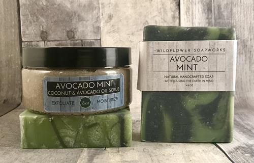 Avocado Mint Set