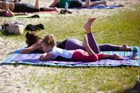Summer Beach Yoga