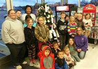 Angel Tree Decorated by After School Program