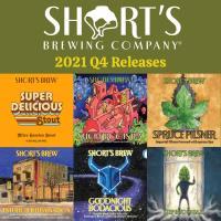 News Release: 10/4/2021 Short's Brewing Co. Announces Q4  Releases