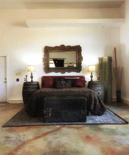 The Villa master suite