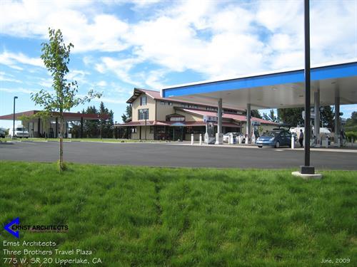 Upper Lake - Chevron Station corner of 20 & 29