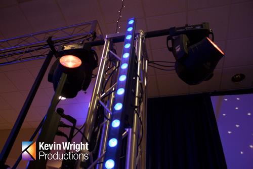 We will setup the big screens, and prepare great sound with the lighting to go with it! Yes, if you ever wanted to have your event themed to a color of your choice, we can make that happen! Give us a call: (800) 890-0580 so we can start planning with you today!