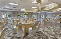 Our flexible banquet space can accoomodate up to 250 people with a dance floor