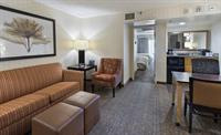 Each of our 2 room suites features a palor which includes a sofa bed, wet bar, microwave and mini fridge