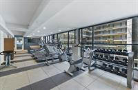 Our fitness room is open 24/7