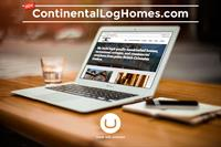 Continental Log Homes Website Development
