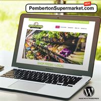 Pemberton Valley Supermarket Website Development
