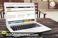 RDC Fine Homes Website Development