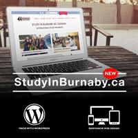 Study In Burnaby Website Development