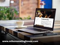 Mile One Eating House Website Development