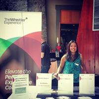 The 2015 Resort Info tradeshow at the Whistler Conference Centre #thewhistlerexperience
