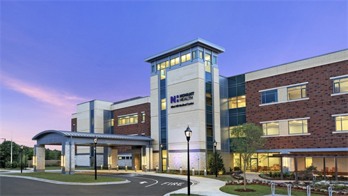 Front of Novant Health Mint Hill Medical Center