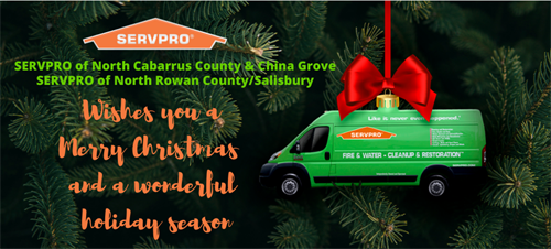 Let SERVPRO of North Cabarrus County & China Grove help you with your holiday carpet and upholstery cleaning