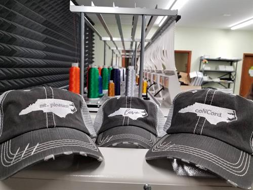 More hats...