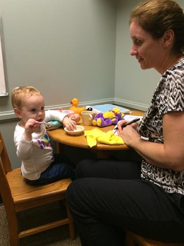 Speech and Feeding Therapy