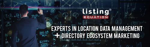 Listing Equation helps manage location data and directory listing marketing