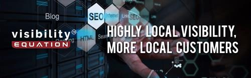 Visibility Equation gets your business highly visible in local search