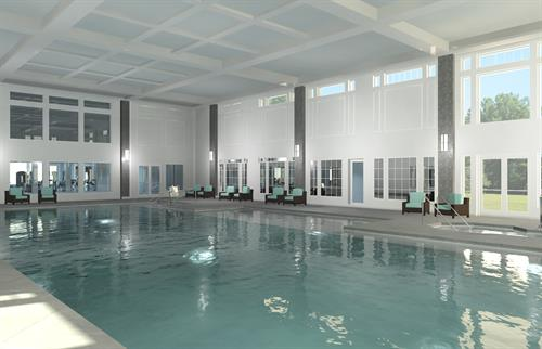Clubhouse indoor swimming pool