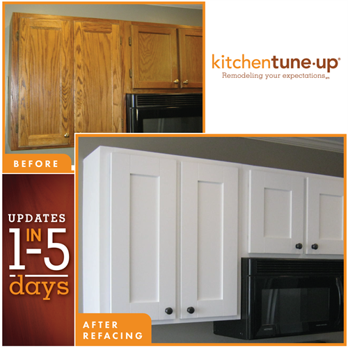 Refacing Before/After