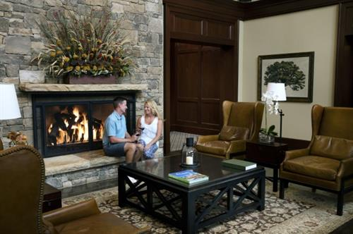When you walk through the doors, you will feel right at home with the cozy atmosphere.