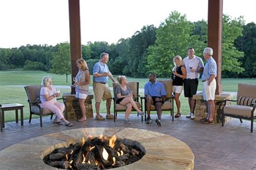 Relax by the fire pit with your family, friends and neighbors!