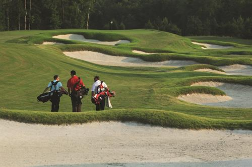 Our Members build relationships on the course!