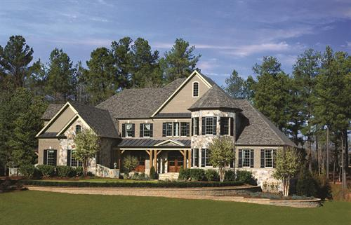 Our largest home designs on 1+ acre home sites can be found in the Signature collection.