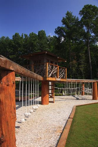 Kids of all ages can enjoy the Adventure Playground!