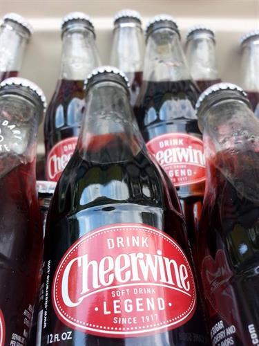 Get a Cheerwine with lunch!