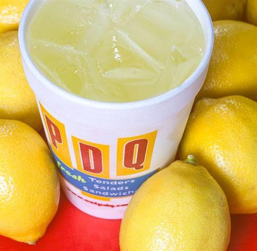Freshly squeezed lemonade daily