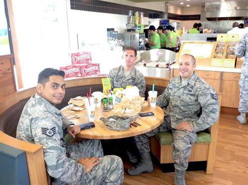 PDQ is proud & grateful of our servicemen & women who protect our freedom! On the first Monday of every month, participating PDQ locations offers a great deal for Military Members.  Military members in Uniform or valid Military Id can receive 50% off their entire order.