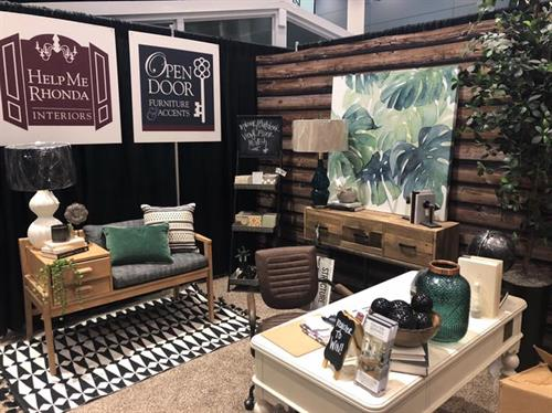 Our Downtown Raleigh Homeshow Booth